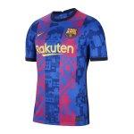 Nike FC Barcelona Trikot Home 2021/2022 Blau F427 ohne Brustsponsor