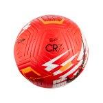 Nike Strike CR7 Fussball Rot Orange Schwarz F635