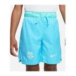 Nike FC Barcelona Woven Short Kids Blau F425