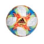 adidas Conext 19 OMB Spielball Weiss Gelb