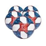 adidas MLS OMB Spielball Weiss