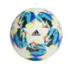 adidas Finale Trainingsball Weiss Gelb
