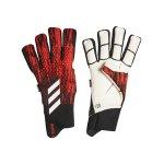 adidas Predator Pro FS TW-Handschuh Schwarz Rot