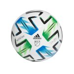 adidas MLS Pro OMB Spielball Weiss Blau Grün