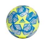 adidas Finale Istanbul CL Trainingsball Gelb Blau
