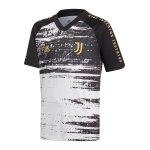 adidas Juventus Turin Prematch Shirt Kids Weiss