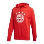 adidas FC Bayern München DNA Graphic Hoody Rot