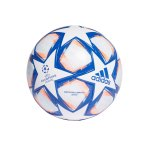 adidas Champions League Finale LGE Fussball Weiss Blau Orange