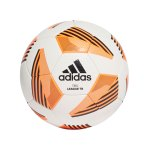 adidas Tiro League Trainingsball Weiss Orange