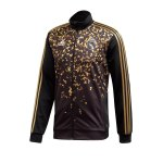adidas Real Madrid EA Trainingsjacke Schwarz Gold