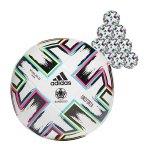 adidas TRN Uniforia Trainingsball Weiss Schwarz