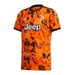 adidas Juventus Turin Trikot UCL 2020/2021 Orange