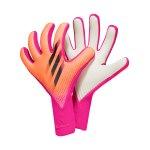 adidas X Pro Superspectral Torwarthandschuh Pink Schwarz