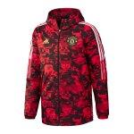 adidas Manchester United CNY Padded Jacke Rot