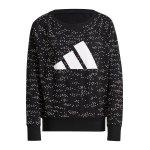 adidas Winners 3 Bar Crew Sweatshirt Damen Grau