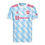 adidas Manchester United Trikot Away 2021/2022 Weiss