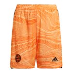adidas FC Bayern München TW-Short 2021/2022 Kids Orange