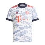 adidas FC Bayern München Trikot Away 2021/2022 Kids Schwarz
