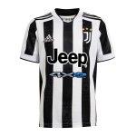 adidas Juventus Turin Trikot Home 2021/2022 Kids Weiss