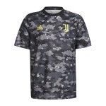 adidas Juventus Turin Prematch Shirt 2021/2022 Grau