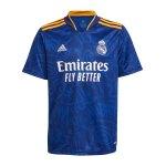 adidas Real Madrid Trikot Away 2021/2022 Kids Blau