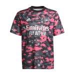 adidas FC Arsenal London Prematch Shirt 2021/2022 Kids Pink Schwarz
