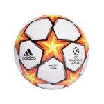 adidas UCL Finale 21 LGE Spielball Weiss Orange