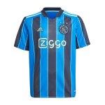 adidas Ajax Amsterdam Trikot Away 2021/2022 Kids Blau
