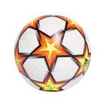 adidas UCL Finale 21 Trainingsball Weiss Gelb