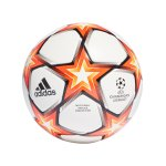 adidas UCL Finale 21 Spielball Competition Weiss Rot