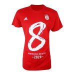 adidas FC Bayern München Meistershirt 2020 Rot