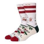 Stance Santas Day off Socken Weiss