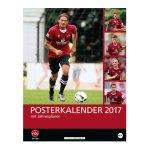 1. FC Nürnberg 2017 Posterkalender Rot Schwarz