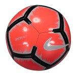 Nike Pitch Trainingsball Weiss Rot F100