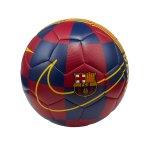 Nike FC Barcelona Trainingsball Blau F455