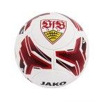 Jako VfB Stuttgart Fanball Fussball Weiss Rot F10